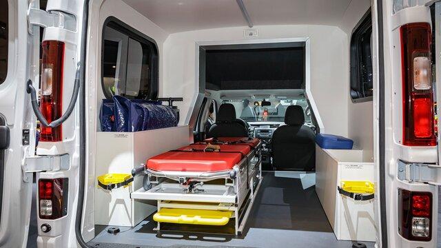 Helt nya TRAFIC – ambulans