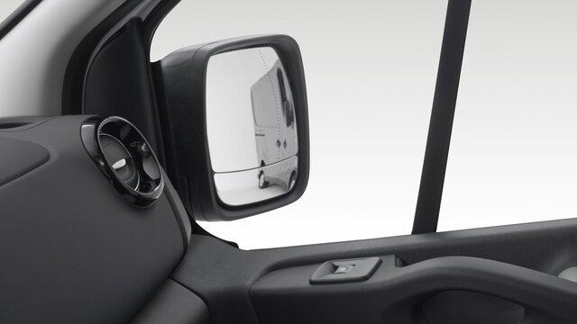 Rétroviseurs extérieurs double asphériques & miroir d'angle mort