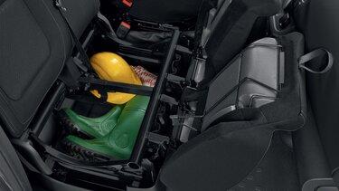 90L de compartimentos en la cabina