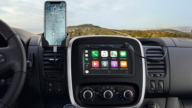 Ondersteuning Apple CarPlay TM & Android Auto TM