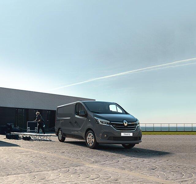 Samochód dostawczy Renault Trafic