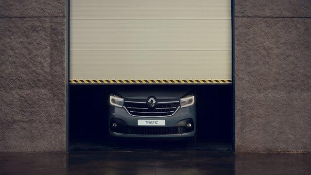 Renault TRAFIC Verchromter Kühlergrill
