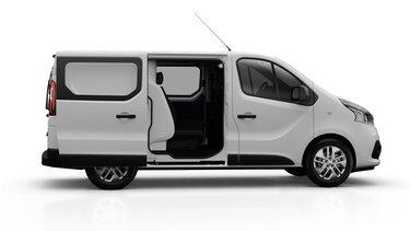 Renault TRAFIC furgone con doppia cabina