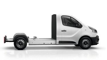 Renault TRAFIC con pianale cabinato
