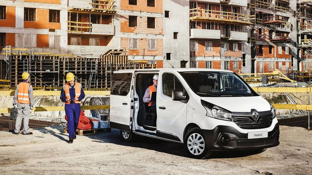 Renault TRAFIC double cabine