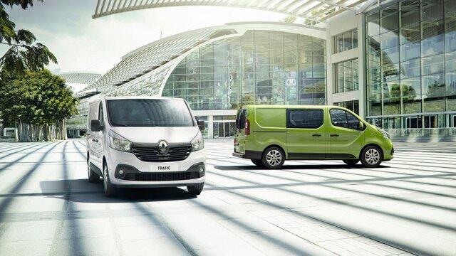 Renault TRAFIC Grey Green