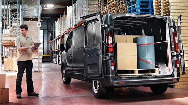 Renault TRAFIC – Carico utile