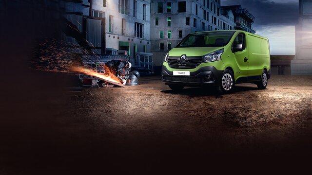 Renault TRAFIC dall'esterno