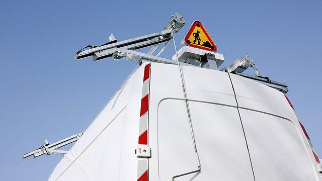 Renault TRAFIC manuelle Türleiter