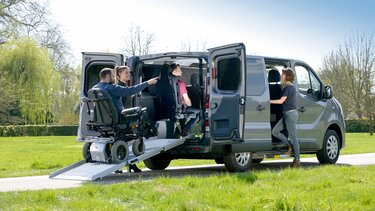 Renault TRAFIC – Trasporto persone