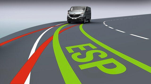 Renault TRAFIC ESC elektronisches Stabilitätsprogramm