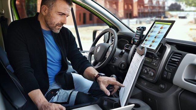 Renault TRAFIC mobiles Büro