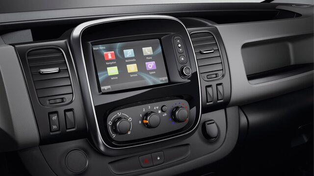 Renault TRAFIC – Media Nav Evolution