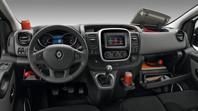 Renault TRAFIC Kabine mit 90-l Stauraum