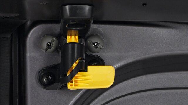 Renault TRAFIC Verrieglungshaken der Hecktür