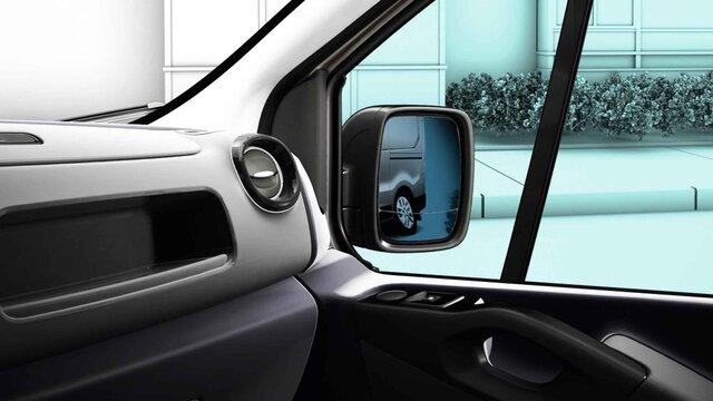 Renault TRAFIC doppelt-asphärischer Aussenspiegel