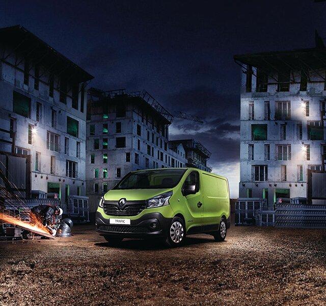 Renault Trafic Furgón profesional