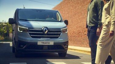 Aussendesign des Neuen Renault Trafic