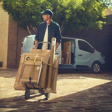 Der Neue Renault Trafic Van – Lösungen für die Beladung