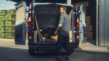 Umbau des Renault Trafic Van