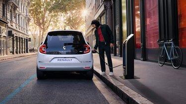 Vanjski izgled električnog vozila TWINGO – domet vožnje i punjenje