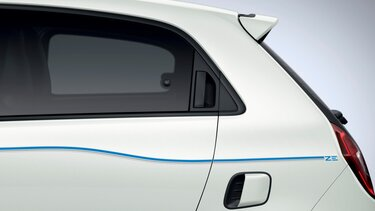 TWINGO Electric exterior - Stripping lateral azul