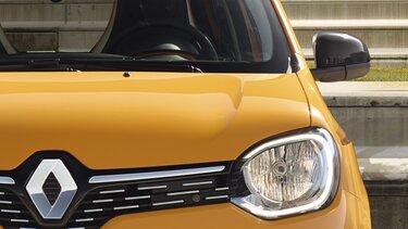 TWINGO Electric exterior - Centro de la rueda enmarcado en color azul