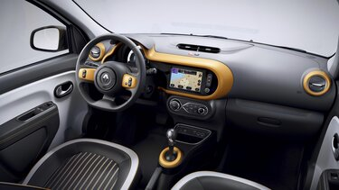 TWINGO Electric - Personaliseerbaar interieur