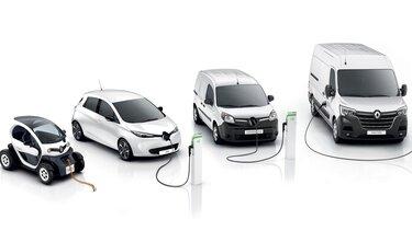 Das Elektrofahrzeug-Angebot von Renault
