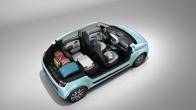 twingo innen und aussendesign fotos videos renault. Black Bedroom Furniture Sets. Home Design Ideas