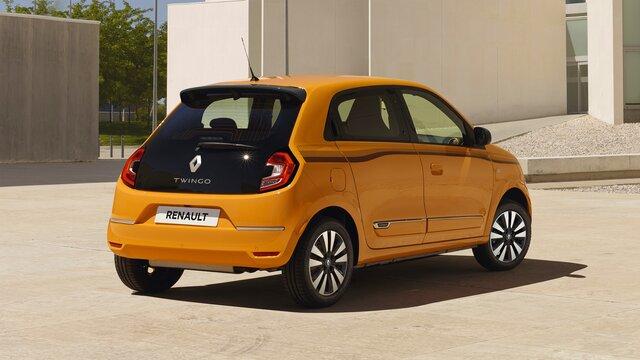 Renault TWINGO technisches Datenblatt