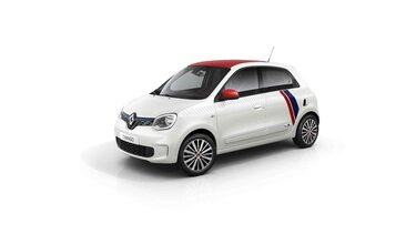 Renault TWINGO Le coq sportif 3D lado direito