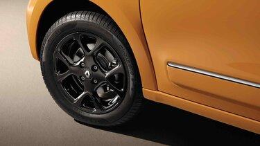 Renault TWINGO Auswahl an Zubehör-Leichtmetallrädern