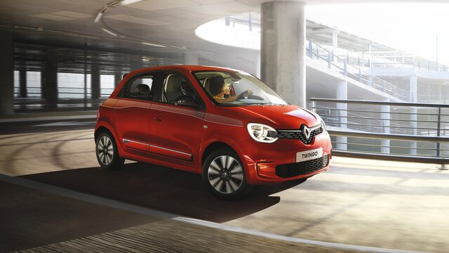 Renault TWINGO - Colore rosso - Lato sinistro
