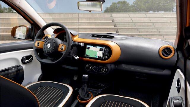 Renault TWINGO personalisierbarer Innenraum