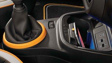 Renault TWINGO - Induktive Smartphoneladefläche