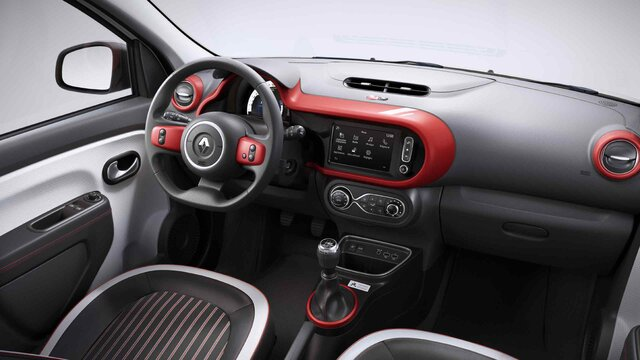 Renault TWINGO Le coq sportif 3D interior
