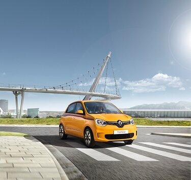 Renault TWINGO gelb Außendesign