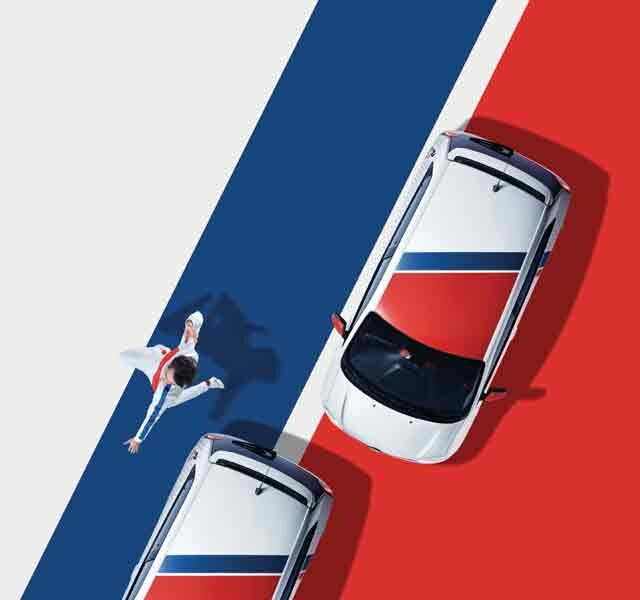 Renault TWINGO Le coq sportif exterior