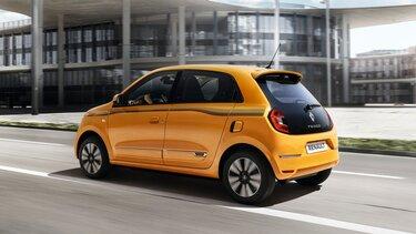 Hvid Renault TWINGO, højre side