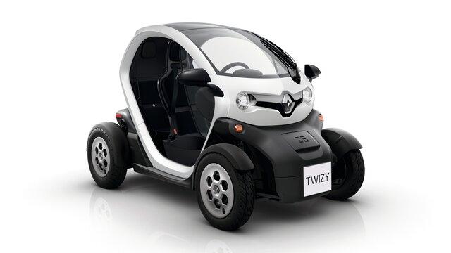 White Renault TWIZY