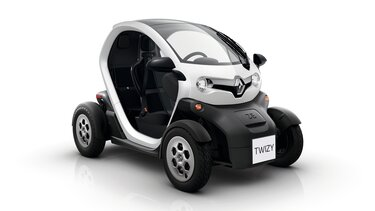 Witte Renault TWIZY