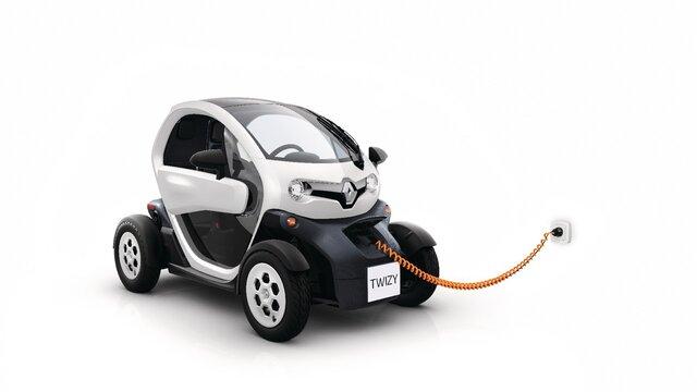 Renault TWIZY Aufladen