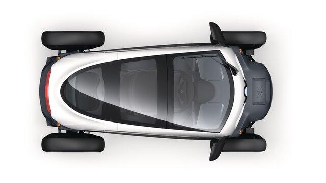 Renault TWIZY – streha