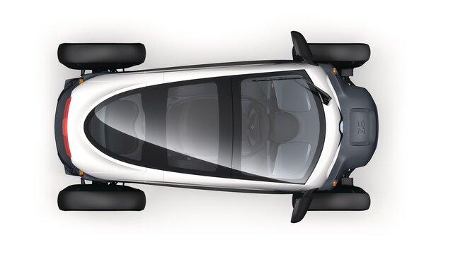 Renault TWIZY - Acoperiș panoramic
