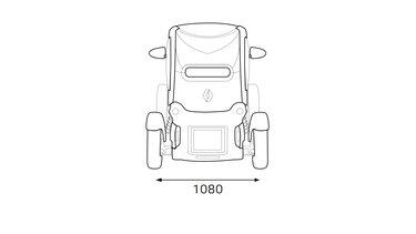 Renault TWIZY Heckabmessungen