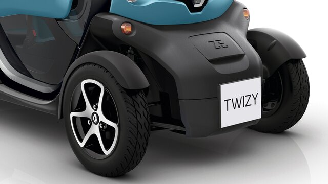 Renault TWIZY parte trasera