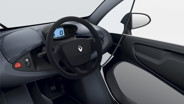 Renault TWIZY - Habitaclu
