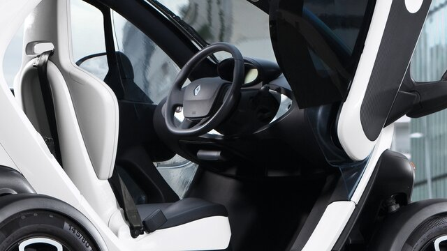 Renault TWIZY equipment