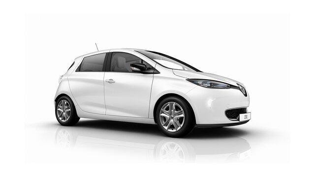 Beyaz Renault ZOE